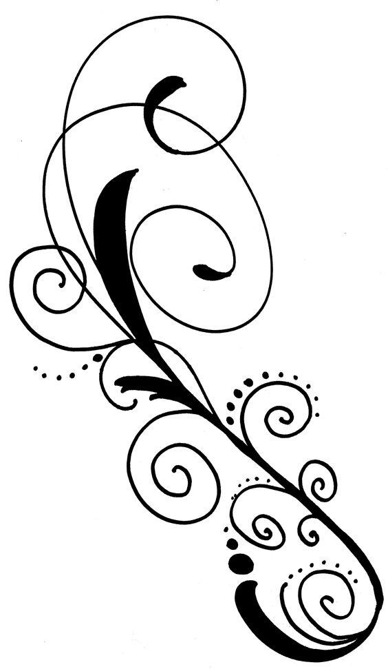 Curve clipart fancy corner Png png line SwirlFreebie061509 sheristrykowski