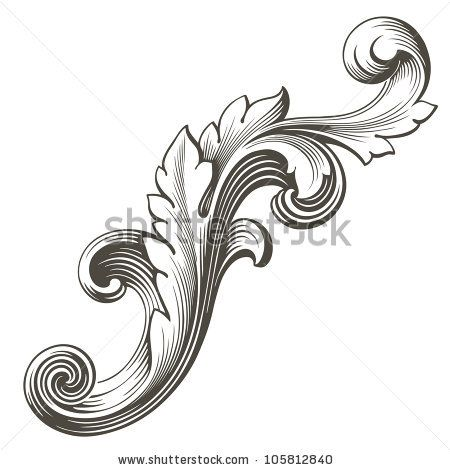 Octigons clipart object FILIGREE more best SCROLLS on