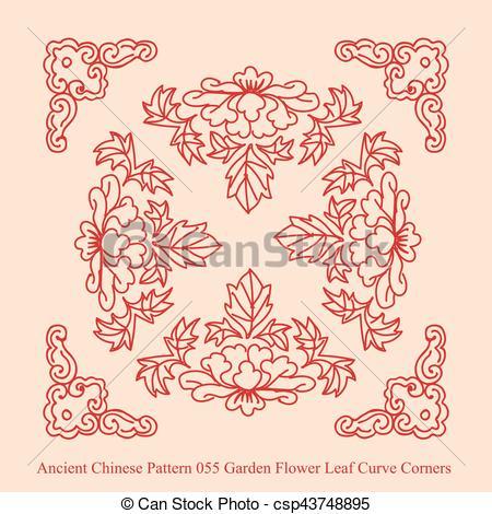 Curve clipart leaf Flower Curve Pattern Pattern of