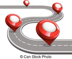 Curve clipart road map #8