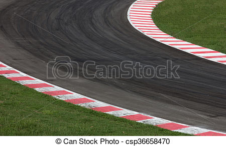 Curve clipart road track #6