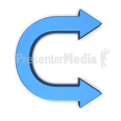 Curve clipart symbol For Curve C Double Arrow