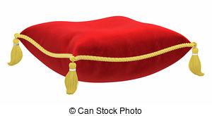 Cushion clipart The   white Royal