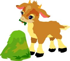 Mountain Goat clipart kid goat #6