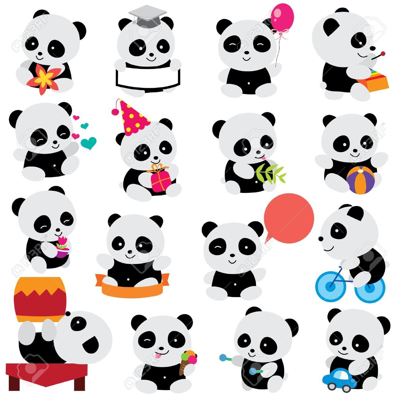 Panda clipart kawaii Panda Baby Cliparts Download Snowjet
