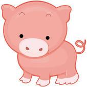 Boar clipart cute Clipart Clipart Cute Baby Pigs