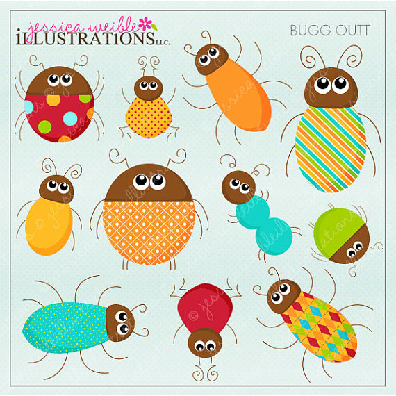 Bugs clipart printable Clipart and JWIllustrations Outt Outt
