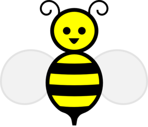Yellow clipart bumble bee Cute 2 clipart Bumble bee