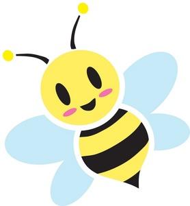 Honey clipart cute Art Stock Bee  Bee