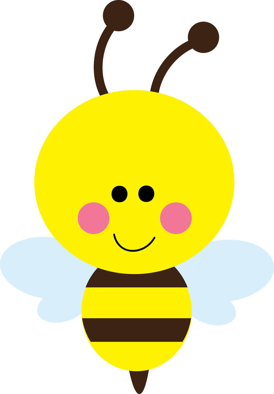 Bee clipart cute Art free about 6 Bumble