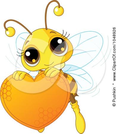 Honey clipart cute A Illustration bee Best Cute