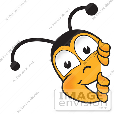 Bees clipart cartoon character Honey Cute Bee Clipart Clipart