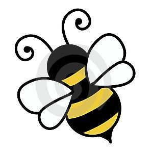 Bee clipart path Cute illustration Pinterest clipart Bee