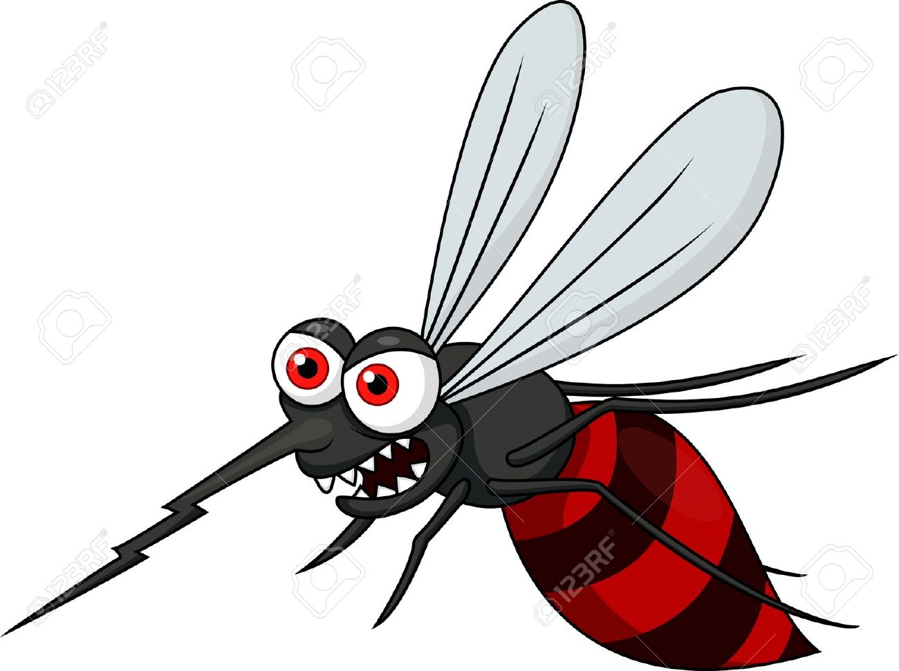 Bugs clipart mosquito Mosquito Clipart Free Clipart Cute