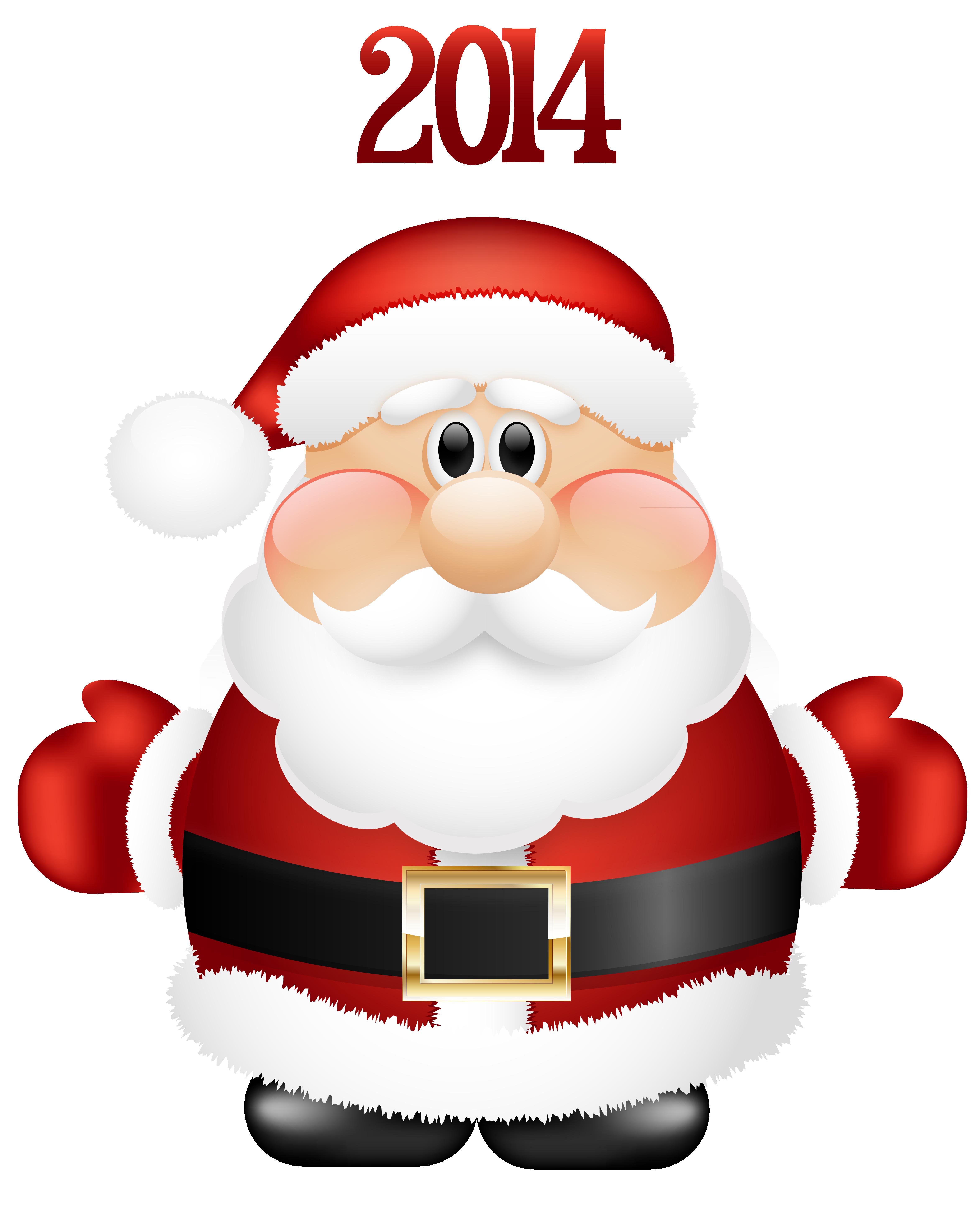 Santa clipart cute #13