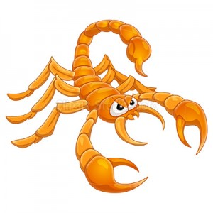 Scorpion clipart cute #14