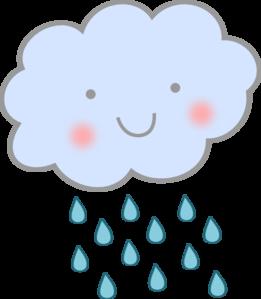 Raindrops clipart cute Rain Cute Cute Art weather