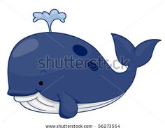 Blue Whale clipart coloring book Free Clip Little Vector Whale
