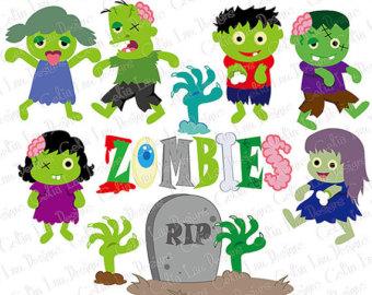Zombie clipart cute Clipart Zombie clipart Zombie Zombie