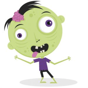 Zombie clipart cute For Zombie zombie ideas on