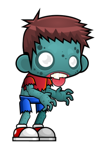Zombie clipart cute Clip This projects the on