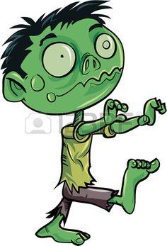 Zombie clipart cute To Cartoon Clip Use Art