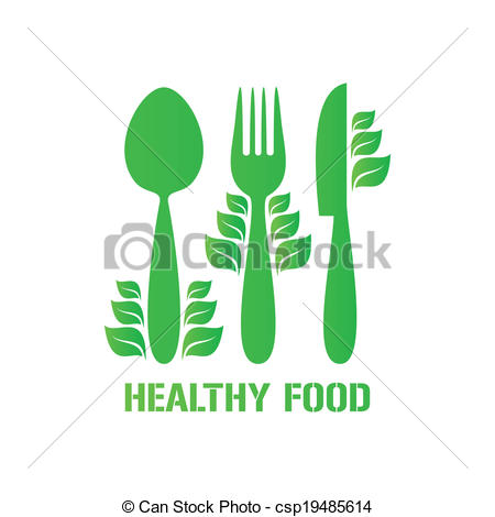 Cutlery clipart healthy food Food csp19485614 food Healthy with
