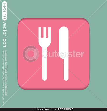 Cutlery clipart lunch Clipart and knife stock symbol