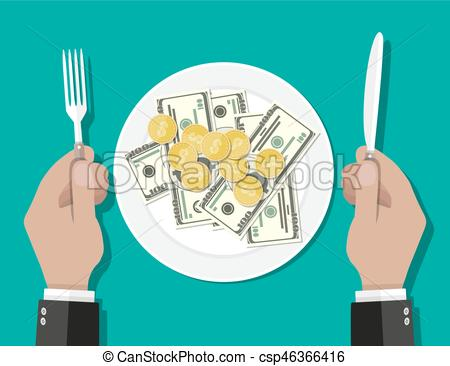 Cutlery clipart lunch Business lunch Art Clip knife