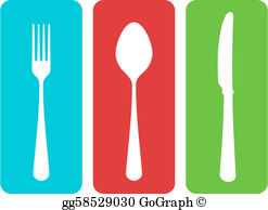 Cutlery clipart red With cutlery gg58529001 Drawing Clipart