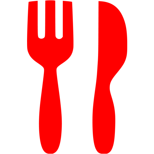 Cutlery clipart red Fork icons 3 icon 3