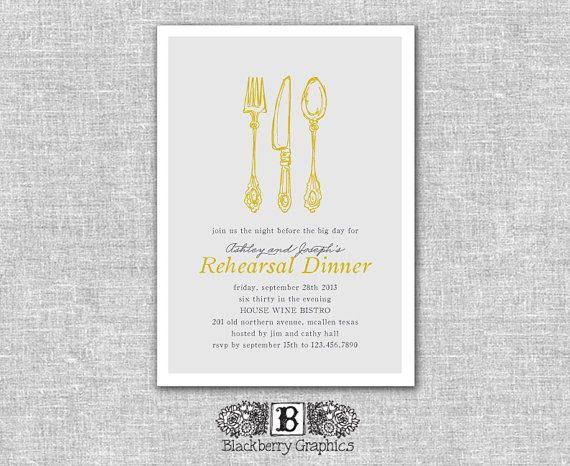 Cutlery clipart rehearsal dinner On best images printable 58