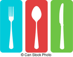 Cutlery clipart vector Menu Art Vector Restaurant