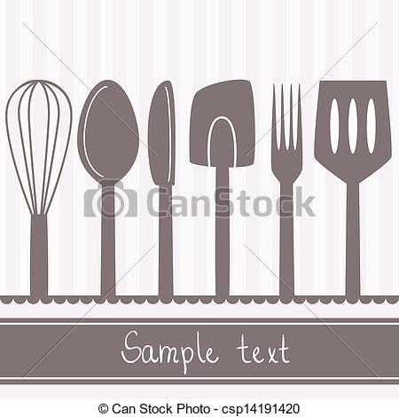 Cutlery clipart vintage kitchen Of 450x470 cutlery collection Kitchen