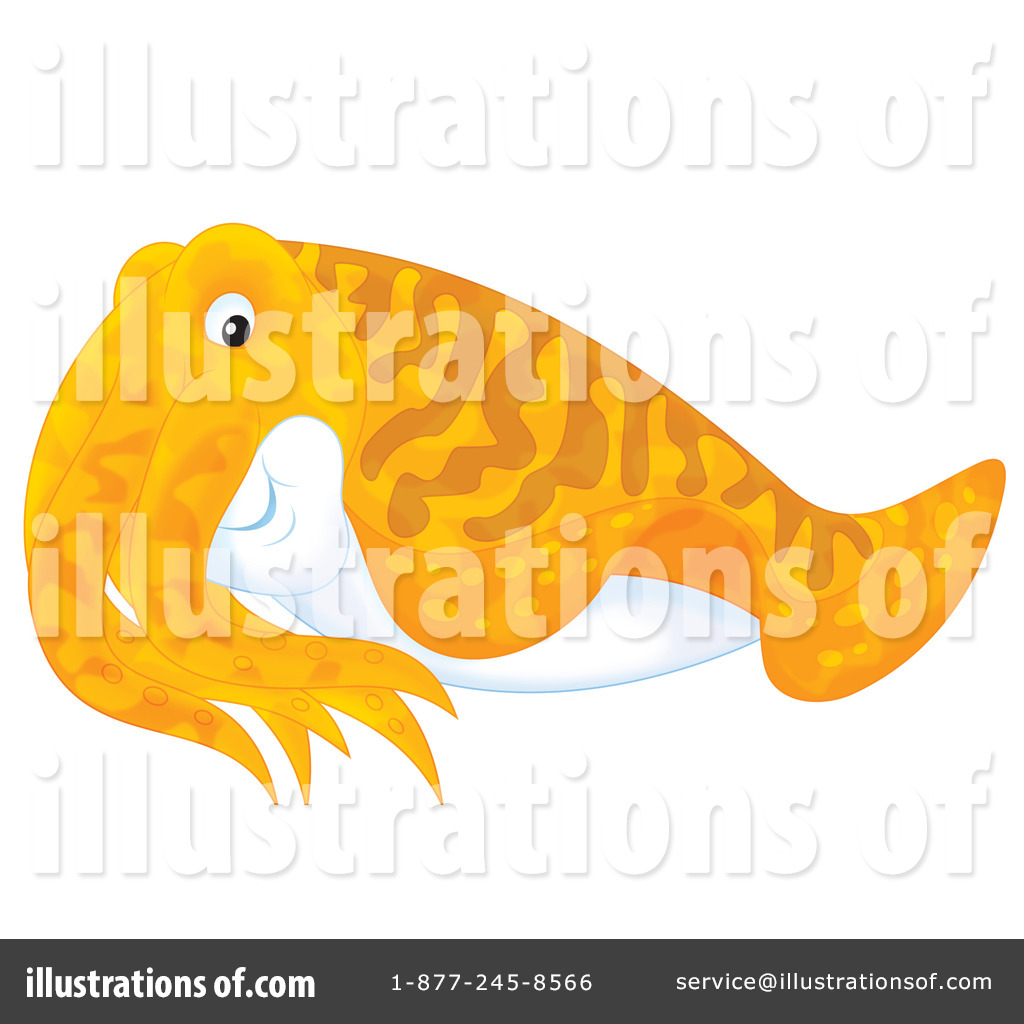 Cuttlefish clipart (RF) Free Bannykh #1189818 by