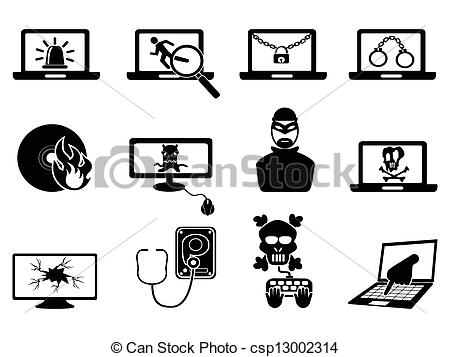 Cyber clipart Of computer Thift icons and