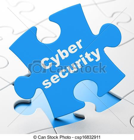 Cyber clipart cyber security Puzzle on csp16832911 Security Security