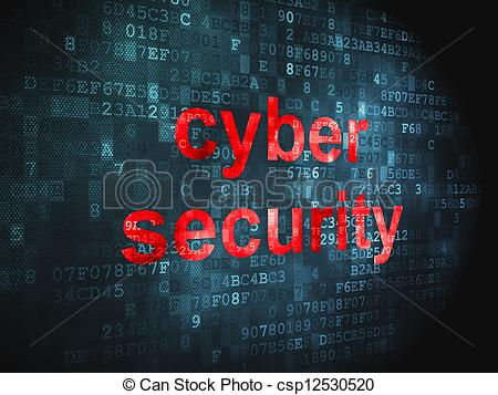Cyber clipart cyber security Digital Security csp12530520 Security Cyber