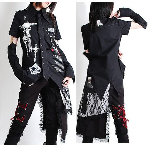 Cyber clipart men's fashion On 2010204 gothic lolita Shirts