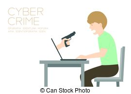 Cyber clipart victim Space hand simple gun holding