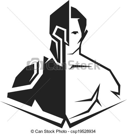 Cyborg clipart Silhouette a of and cyborg