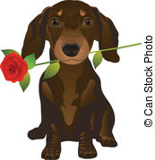 Dachshund clipart Free puppy royalty Clipart a