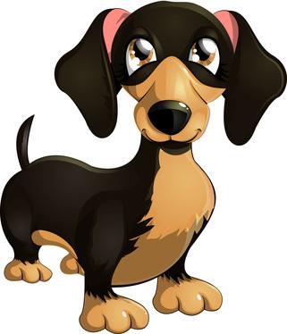 Dachshund clipart Dog Clip Art Cartoon Clip