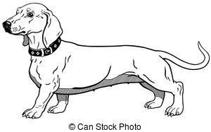 Dachshund clipart  black free 1 dachshund