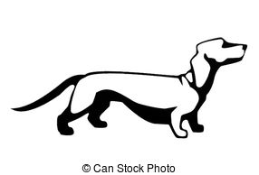 Dachshund clipart Illustrations Dachshund Daschund 951 royalty