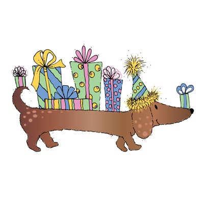 Birthday clipart dachshund Images Clip on Pin and