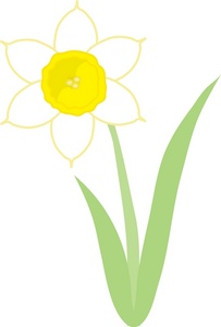 Daffodil clipart Clipart Daffodil Image: Image Clipart
