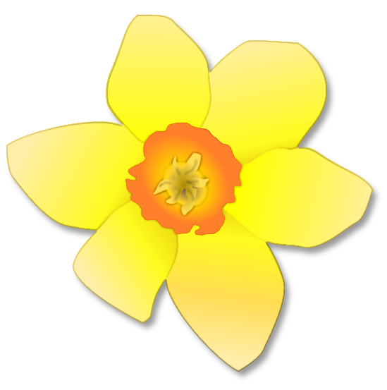 Yellow Flower clipart single flower Clipart  and Flower images
