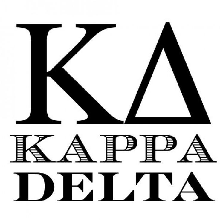 Dagger clipart kappa delta Kappa Delta images 176 Kappa