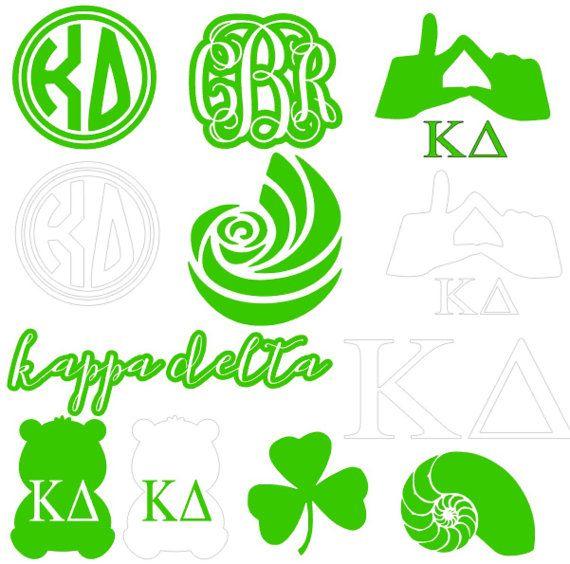 Dagger clipart kappa delta Kappa Delta Pack Sorority Pinterest